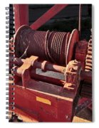 Big Red Winch Spiral Notebook