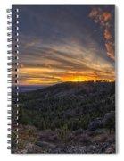 Big Rock Panorama Spiral Notebook