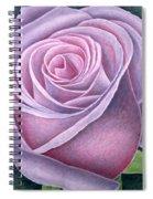 Big Rose Spiral Notebook