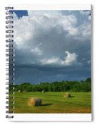 Big Sky-brief Shower Spiral Notebook