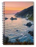 Big Sur Evening Spiral Notebook