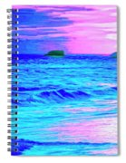 Big Sur Sunset Spiral Notebook