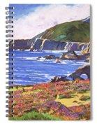 Big Sur Wildflowers - Plein Air Spiral Notebook