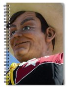 Big Tex - Oil Spiral Notebook