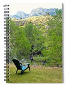 Big Thompson Canyon Pre Flood Moment 1 Spiral Notebook