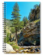 Big Thompson Canyon Pre Flood Moment 2 Spiral Notebook