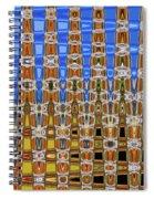 Big Tree Stump Abstract Spiral Notebook