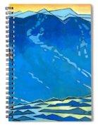 Big Wave Spiral Notebook