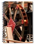 Big Wheels Keep On Turning Spiral Notebook