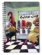 Big Wigs And False Teeth Spiral Notebook