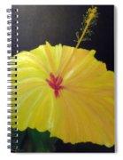 Big Yellow Hibiscus Spiral Notebook