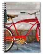 Bike - Delivery Bike Spiral Notebook