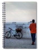 Bike In Essaouira Spiral Notebook