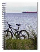 Bike On The Bay Spiral Notebook