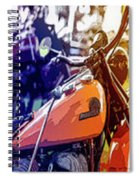 Bike Poster IIi Spiral Notebook