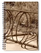 Bike Rack Spiral Notebook