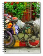 Bike Repair Shop On Wheels Spiral Notebook
