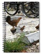 Biker Chicks Spiral Notebook