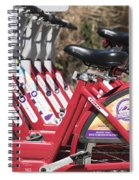Bikes For Rent Spiral Notebook