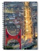 Bilbao Street Spiral Notebook