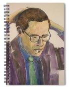 Bill Evans Spiral Notebook