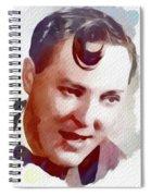 Bill Haley, Music Legend Spiral Notebook