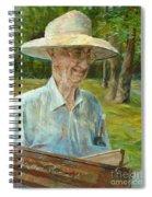 Bill Hines The Legend Spiral Notebook
