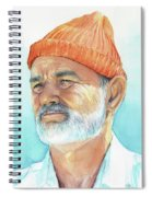 Bill Murray Steve Zissou Life Aquatic Spiral Notebook