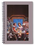 Bill The Galactic Hero Keith Parkinson Spiral Notebook