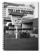 Billboard The Last Territory Tucson Arizona 1987 Spiral Notebook