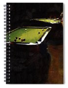 Billiards Ballet Spiral Notebook