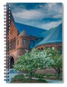 Billings Library At Uvm Spiral Notebook