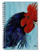 Billy Boy The Rooster Spiral Notebook