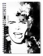 Billy Idol Splatter Spiral Notebook