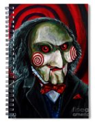 Billy The Puppet Spiral Notebook
