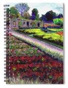 Biltmore Walled Gardens Spiral Notebook