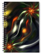 Binary Attractors Spiral Notebook