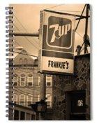 Binghampton New York - Frankie's Tavern Spiral Notebook