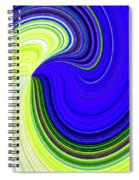 Bionetwork Flow Spiral Notebook