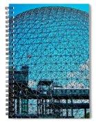 Biosphere Montreal Spiral Notebook
