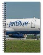 Bippity Boppity Blue Spiral Notebook