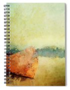 Birch Bark Canoe At Rest Spiral Notebook