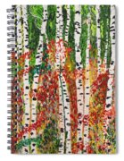 Birch Forest Spiral Notebook