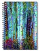 Birch Woods Spiral Notebook