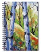 Birches 09 Spiral Notebook