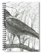 Bird, 2011 Spiral Notebook