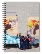 Bird Chairs Spiral Notebook