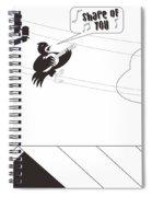 Bird Cover Spiral Notebook