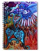 Bird Heart II Spiral Notebook