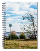 Bird House On The Lake Spiral Notebook